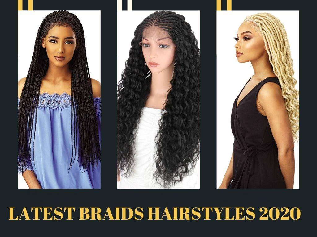 Box braids hairstyles 2020